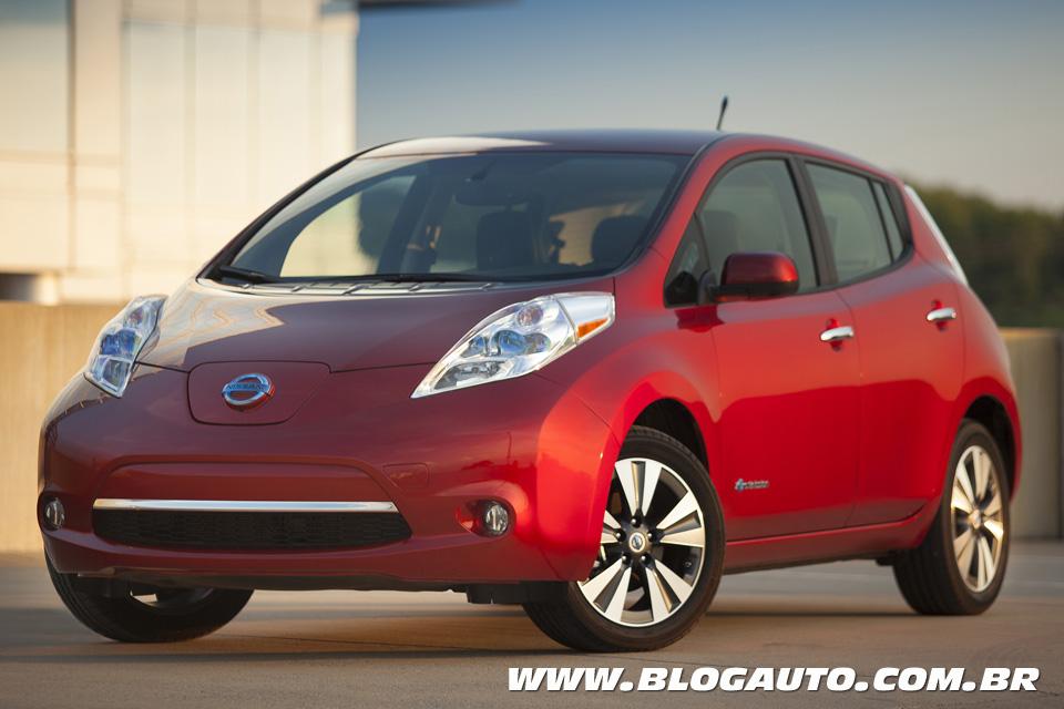 Nissan Leaf: recorde de vendas nos EUA daria modesto 31º lugar no Brasil