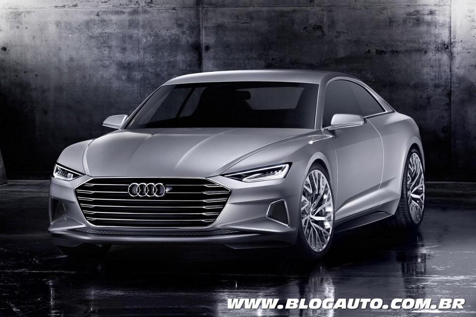 Audi Prologue mostra nova identidade visual da marca