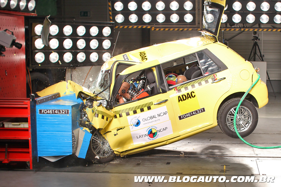 Crash-teste do Lifan 320