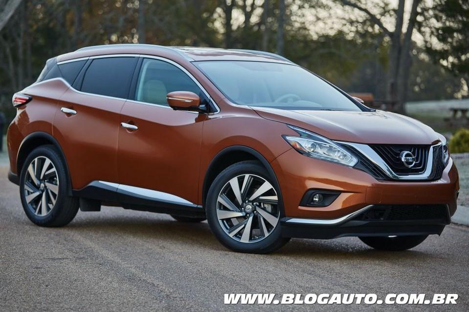 Nissan lança novos Murano e Juke