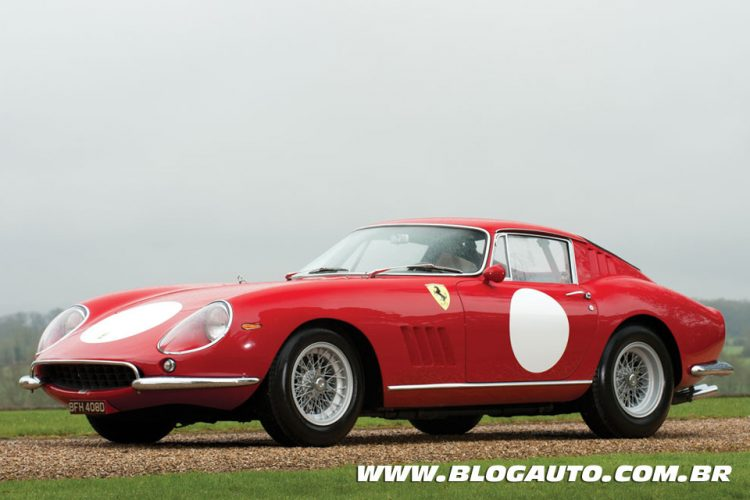 08 Ferrari 275 GTB Competizione 1966 – US$ 7.860.283