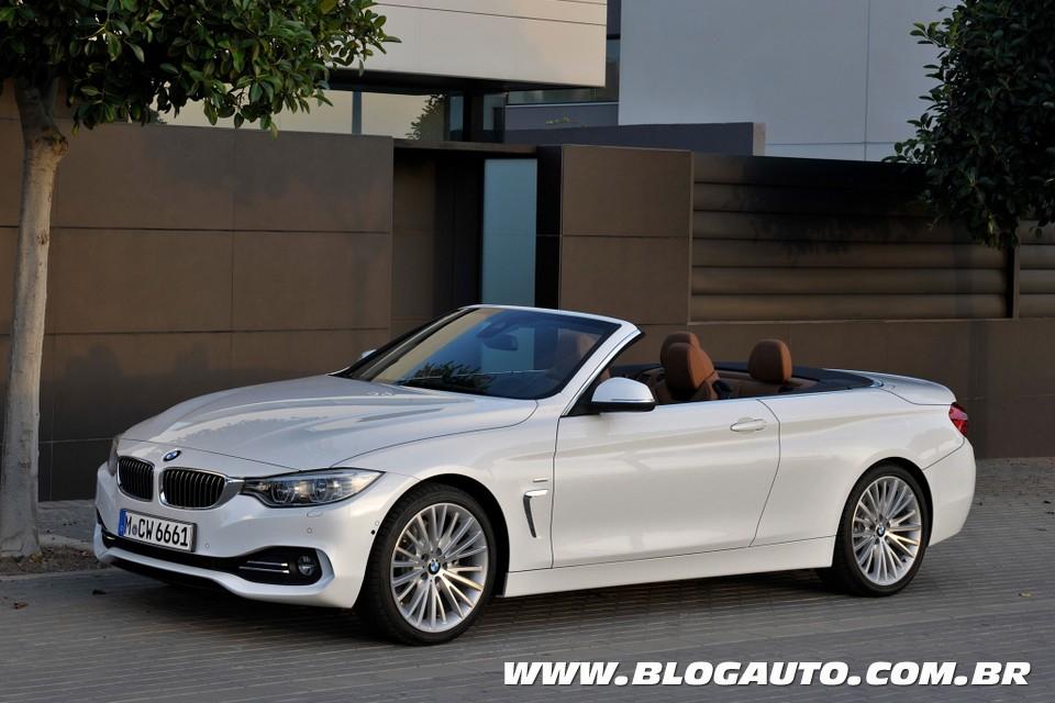 BMW Série 4 ganha modelos Cabrio e Gran Coupé