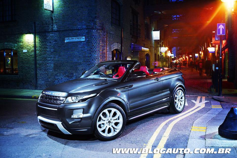 Land Rover Range Rover Evoque Conversível Concept