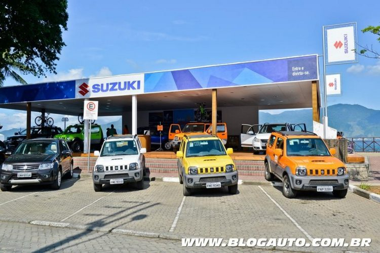 Suzuki leva atrações para o verão de Ilhabela