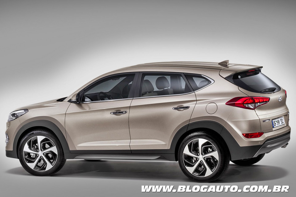 hyundai tucson 2016 eis o sucessor do ix35 blogauto. Black Bedroom Furniture Sets. Home Design Ideas