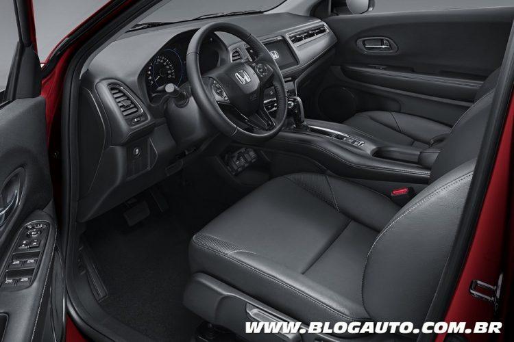Honda hr v chega em mar o e j mostra seu interior blogauto for Honda hr v interieur