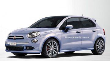 Projeção do Fiat 500 Plus