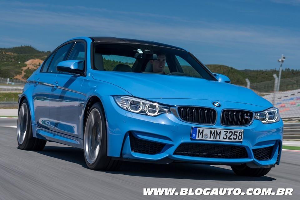 BMW M3 2015 chega ao Brasil por R$ 399.950