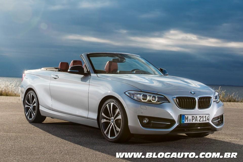 BMW Série 2 Conversível chega ao Brasil