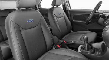 Ford Ka com bancos revestidos em couro