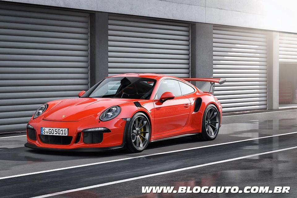 Porsche 911 GT3 RS com saudáveis 500 cv