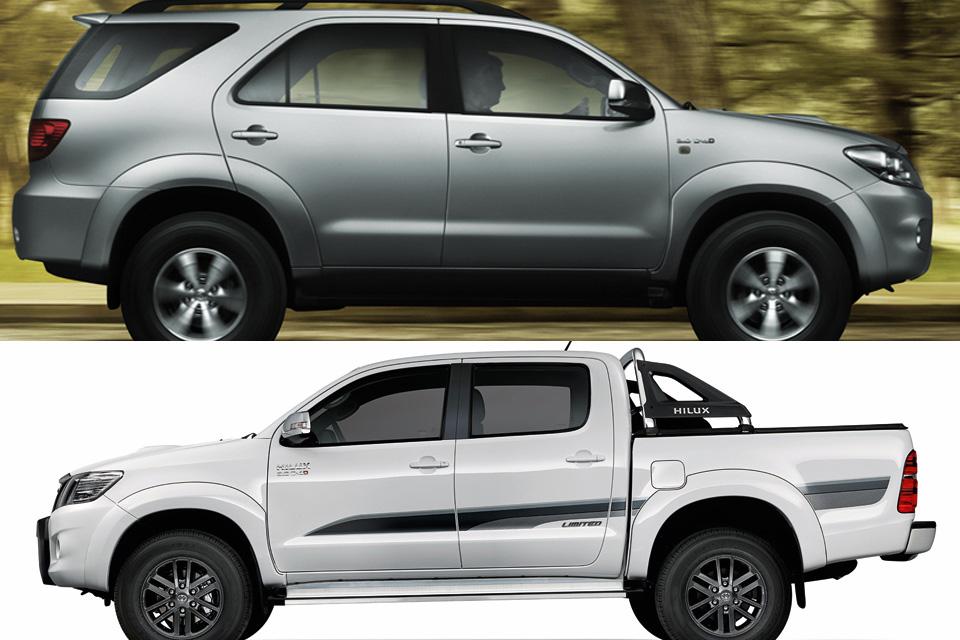 SUV vira automóvel, mas picape continua como utilitário