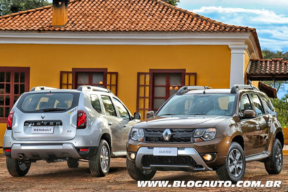 Renault Duster 2016 chega com mudanças a partir de R$ 62.990