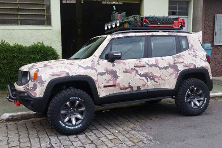 Jeep Renegade customizado