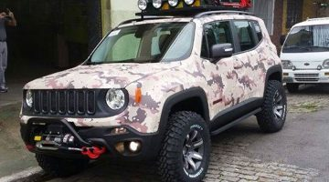 Jeep Renegade customizado