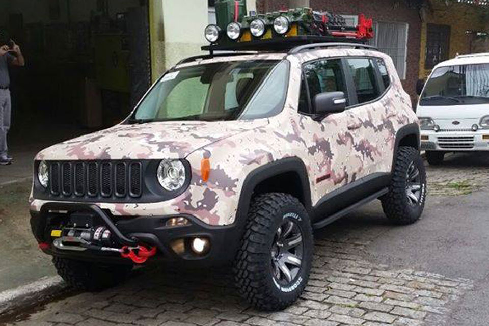 jeep renegade ter vers o customizada no lan amento