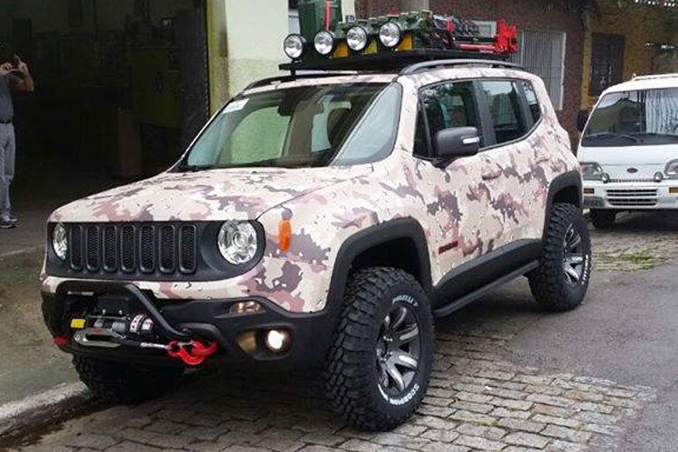 Jeep Renegade terá versão customizada no lançamento