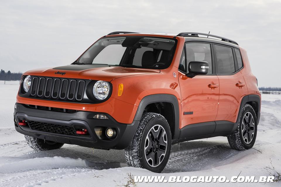 Jeep Renegade tem preços entre R$ 69.900 e R$ 116.900