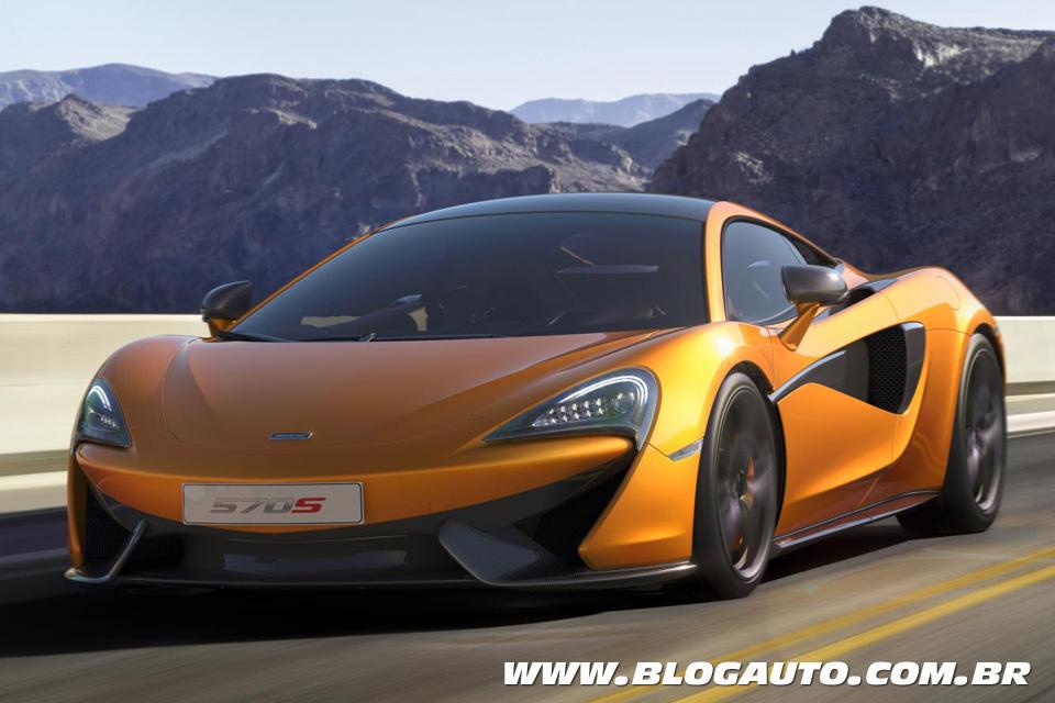 McLaren 570S, esportivo para bolsos não tão cheios