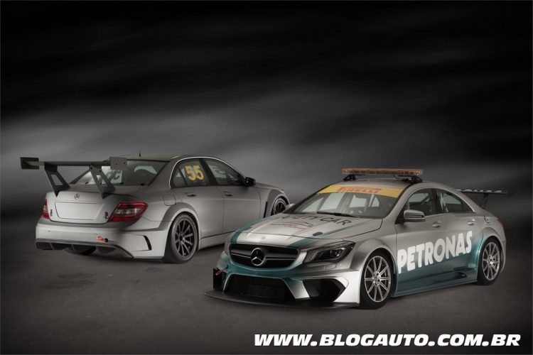 CLA 45 AMG Racing Series do Mercedes-Benz Challenge