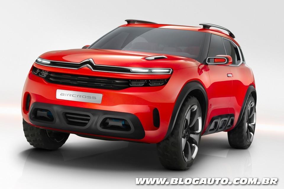 Citroën Aircross Concept quer enfrentar SUVs médios