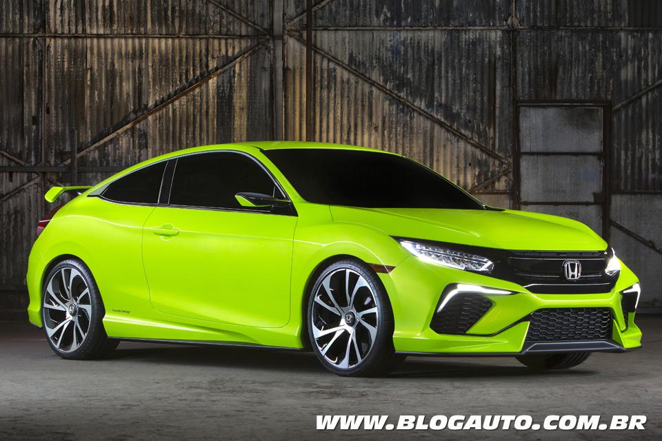 Honda Civic Concept revela futuro sedã mais esportivo