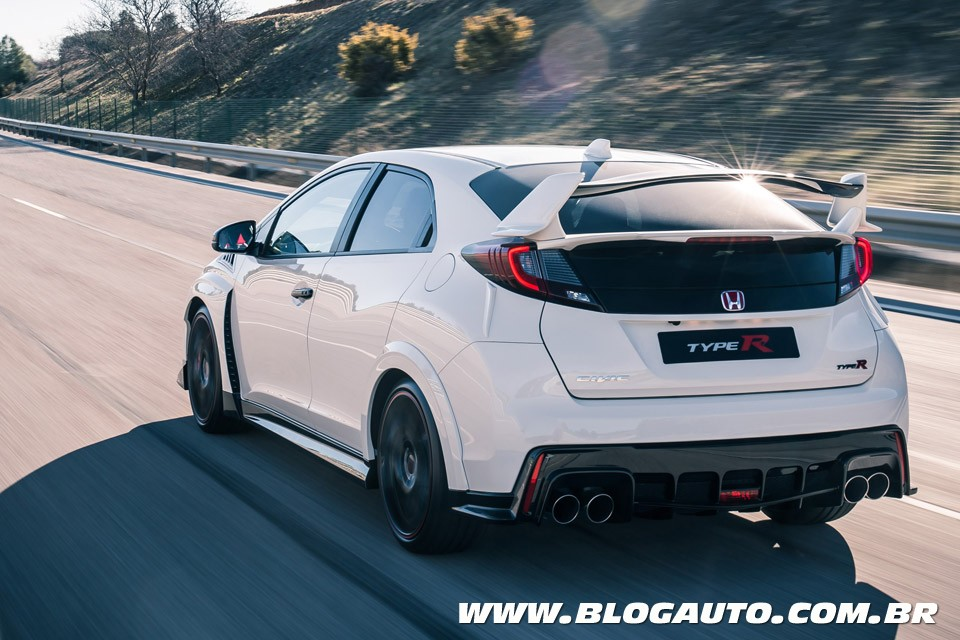 honda civic type r estreia motor turbo de 310 cv blogauto. Black Bedroom Furniture Sets. Home Design Ideas