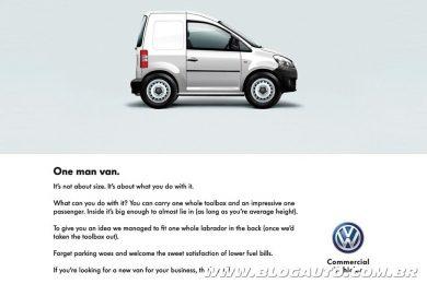 Volkswagen Caddy para uma pessoa