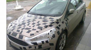 Ford Focus já roda com o visual novo na Argentina