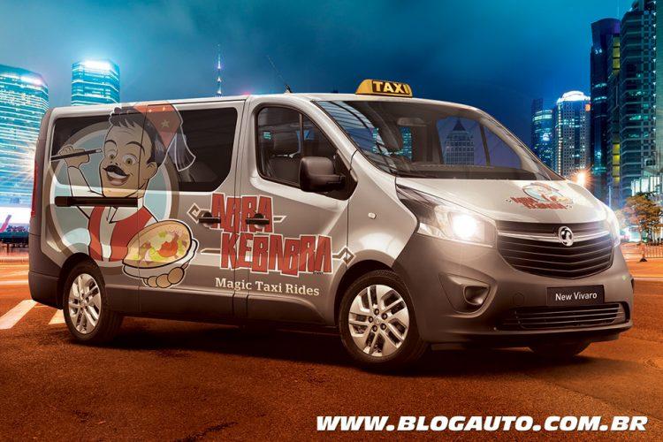 Vauxhall Vivaro Taxi Kebab