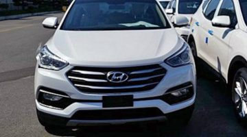 Hyunday Santa Fe 2016 flagrado