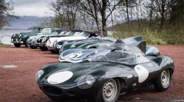 Modelos históricos da Jaguar no Mille Miglia