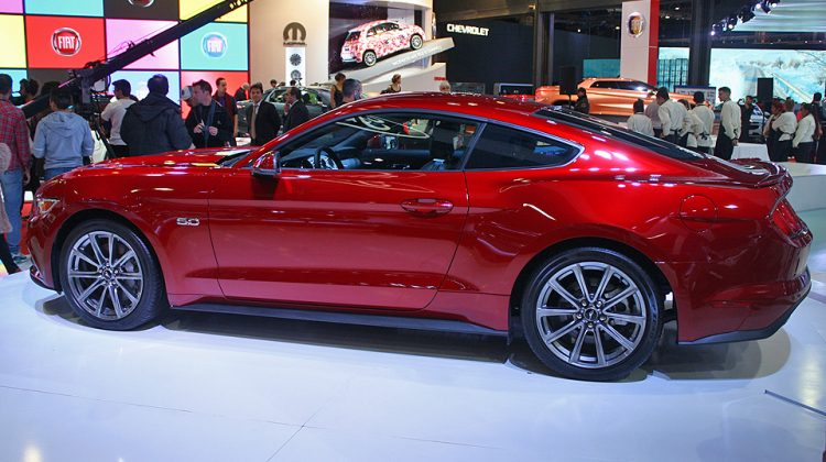 O novo Mustang, cujas vendas na Argentina começarão em 2016