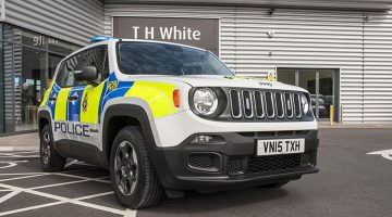 Jeep Renegade policial