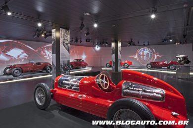 Museu Máquina do Tempo, da Alfa Romeo