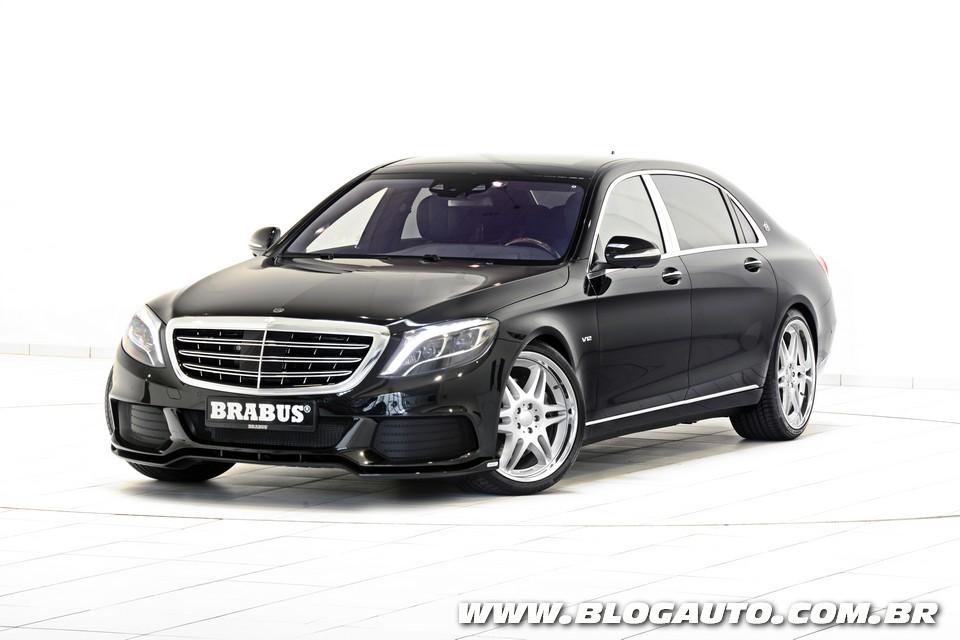 Mercedes-Maybach ganha versão Brabus de 912 cv