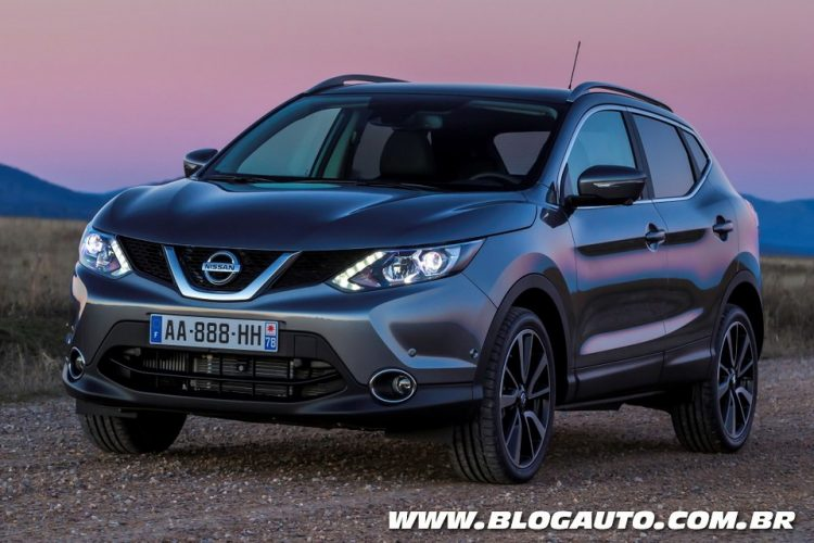 conhe a o nissan qashqai que vem ai blogauto. Black Bedroom Furniture Sets. Home Design Ideas