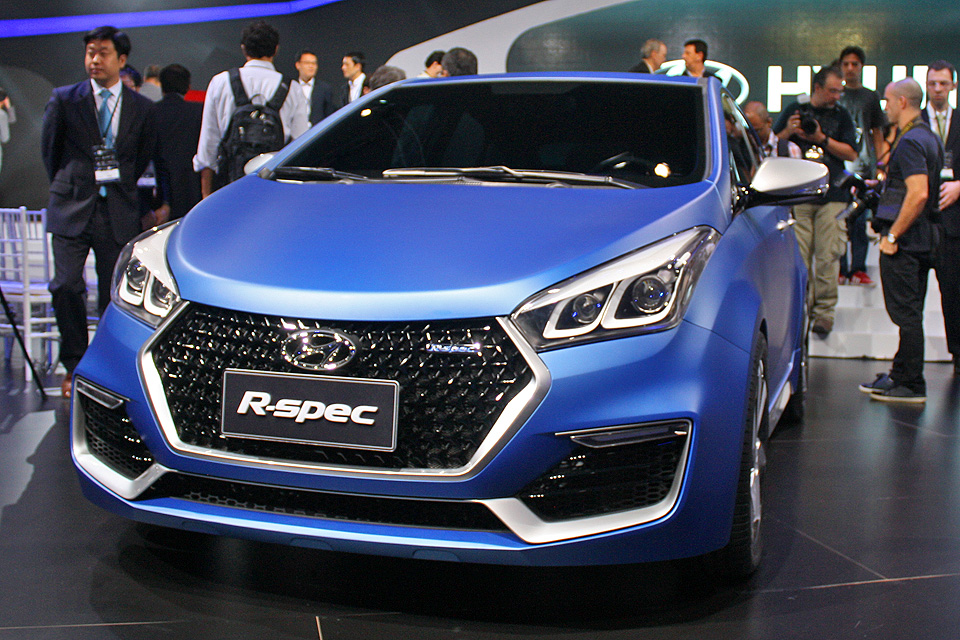 Hyundai R-Spec, que antecipa o novo visual do HB20