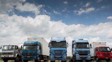 Família de caminhões da Mercedes-Benz