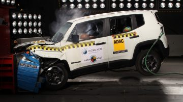 Jeep Renegade no teste do Latin NCAP