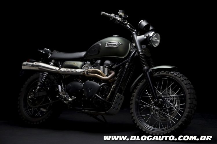 Triumph Scrambler do filme Jurassic World