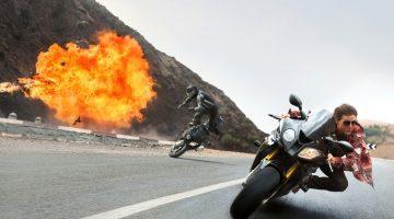 BMW no filme Missão Impossível - Nação