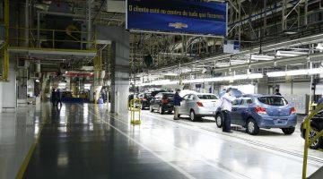 Complexo industrial da GM em Gravataí