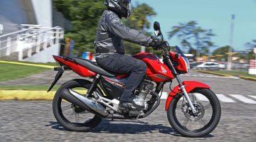 Honda CG 160 liderou com folga as vendas de motocicletas em julho