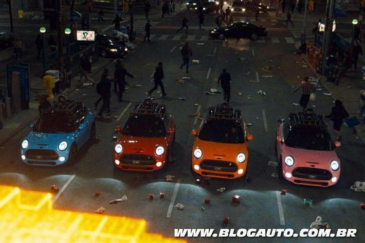 MINI Cooper S no filme Pixels