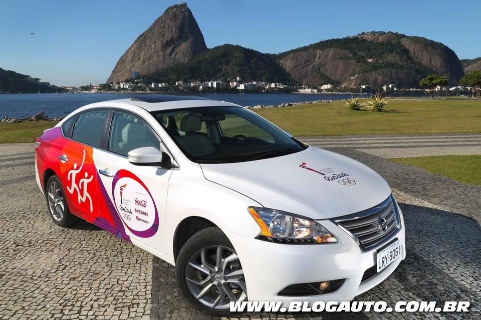 Nissan Sentra será usado nos Jogos Rio 2016
