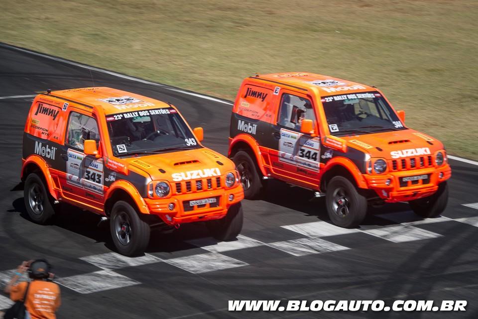 Suzuki Jimny volta ao pódio no Rally dos Sertões - BlogAuto