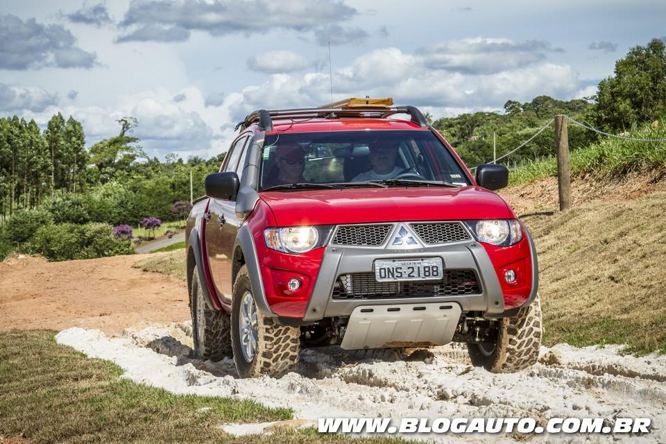 Mitsubishi 4×4 Experience ensina técnicas off-road