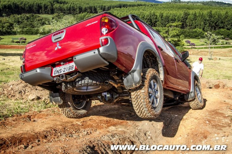 Mitsubishi 4x4 Experience