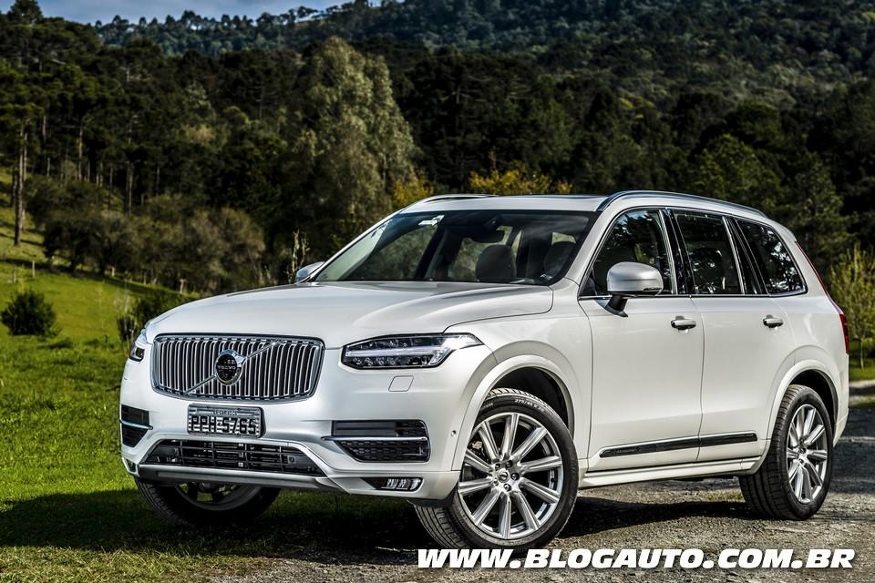 Volvo XC90 2018 ganha mais recursos e parte de R$ 366.950